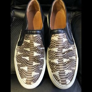 Givenchy 41 python skate sneakers shoes